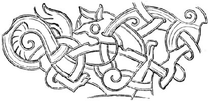 Celtic Zoomorphic Pattern