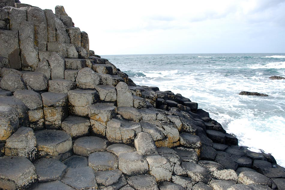 Ireland Tour - Picture of the Giants Causeway in County Antrim