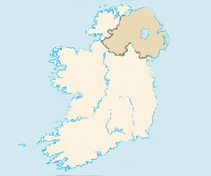 Map of Ireland Image