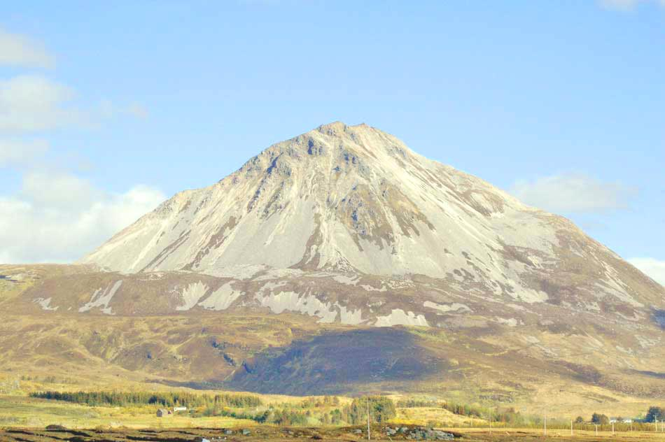 Mount Errigal Picture - Irish Travel