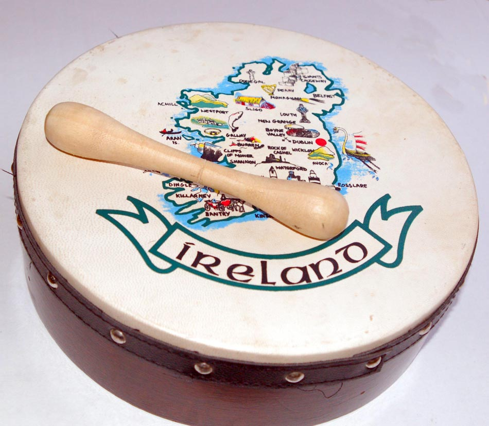 Irish Traditional Music - Bodhran Picture