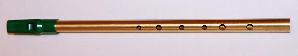 Irish Music - Picture of a Tin Whistle