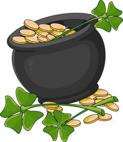 Leprechaun Pot of Gold Picture