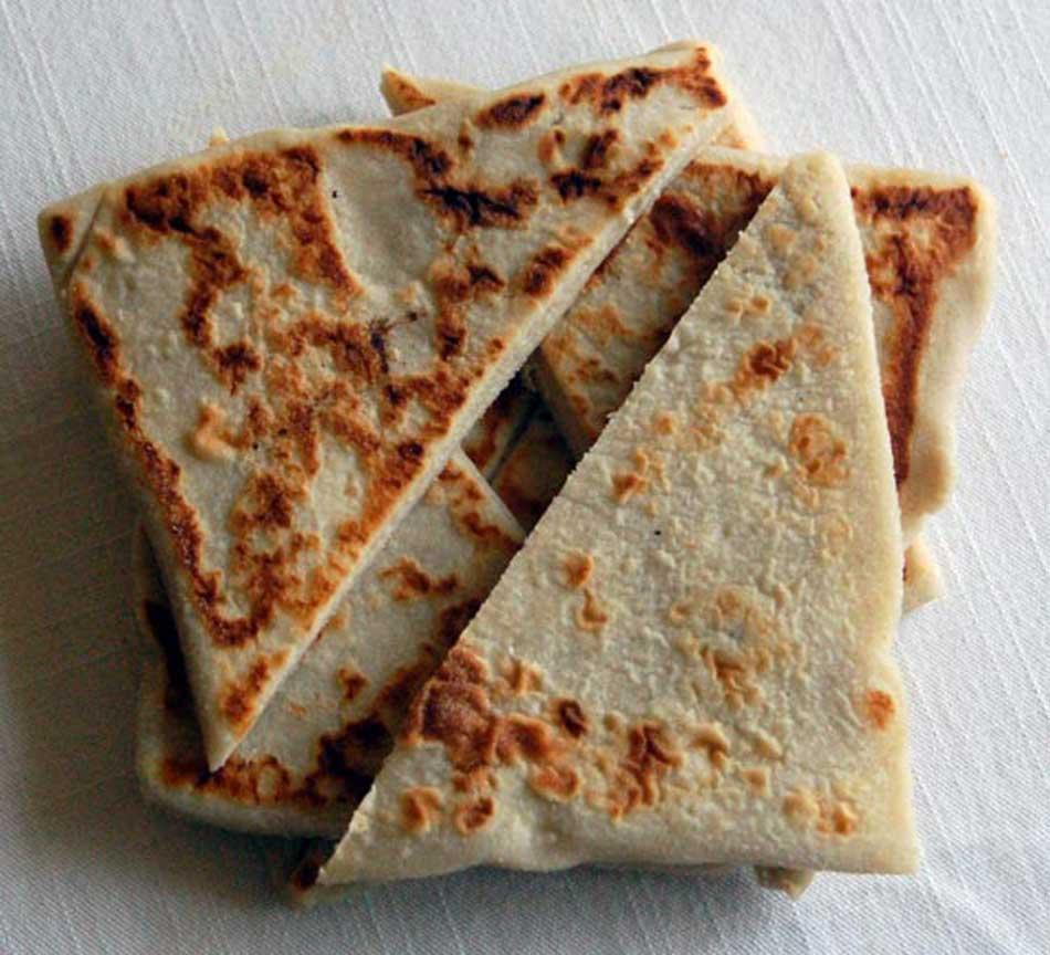 Picture of a Irish Potato Bread also known as Potato Farls